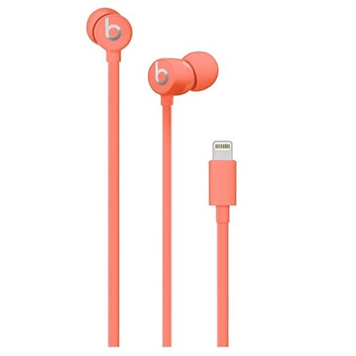 Beats urBeats3 Earphones with Lightning Connector - Coral muhv2ee/a