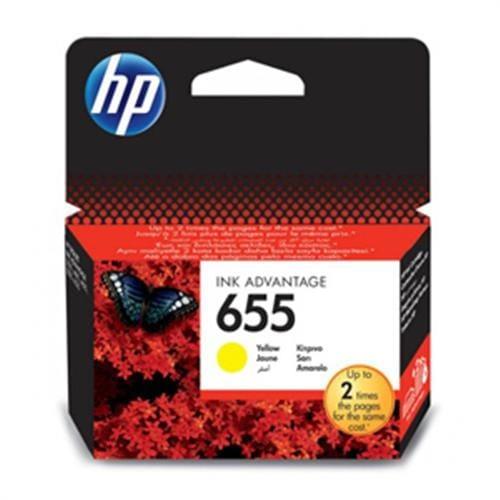 Kazeta HP CZ112AE No.655 Žltá atramentová náplň