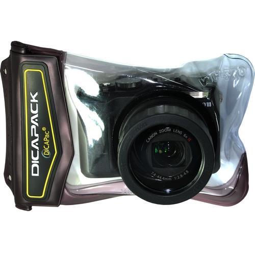 Podvodné puzdro DiCAPac WP-570 pre digitálne fotoaparáty strednej veľkosti so zoomom