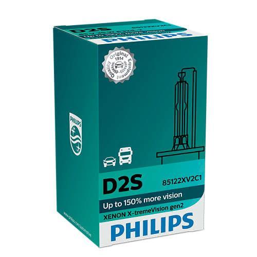 Philips D2S X-tremeVision gen2 +150% 85122XV2C1 xenónová výbojka 8727900377071