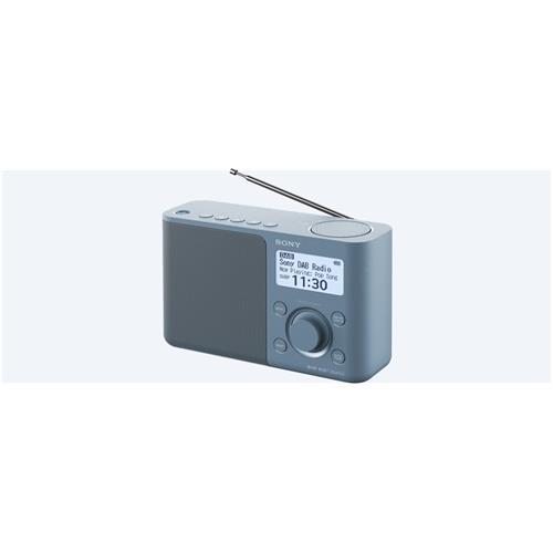 Sony rádio XDRS61DL.EU8 prenosné, modré