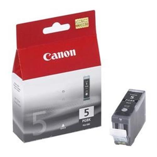Kazeta CANON PGI-5BK black 2-pack 0628B030