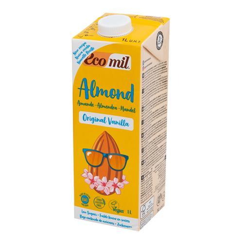 Nápoj zo sladkých mandlí vanilka 1 l BIO ECOMIL 531068