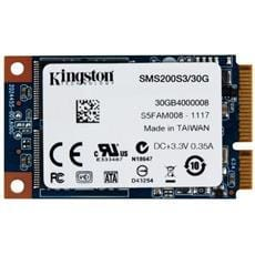 SSD Kingston SSDNow mS200 30GB SATA3 (r550MB/s, w520MB/s)