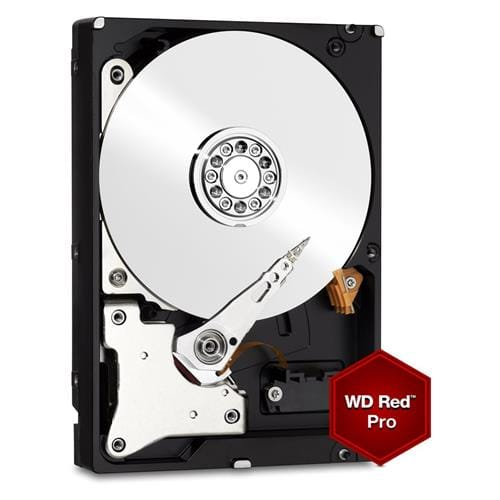 Pevný Disk WD Red Pro 6TB, 3,5, 128MB, 7200RPM, SATAIII NAS 5RZ, WD6002FFWX