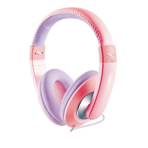 Headset TRUST Sonin Kids Headphone, pink