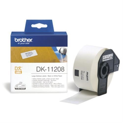 Rolka BROTHER DK11208 Large Adress Labels (400 ks)