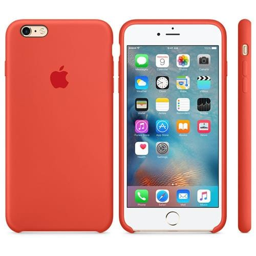 Apple iPhone 6S Silicone Case Orange