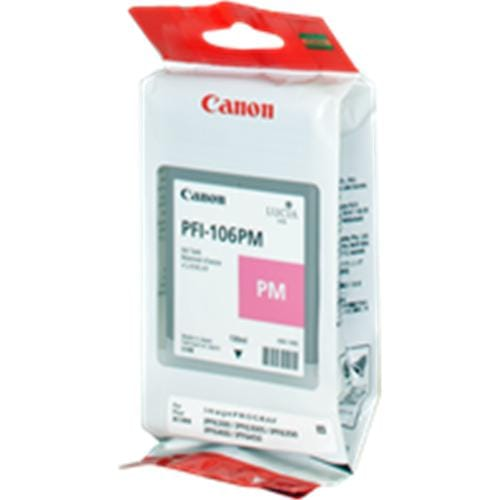 Kazeta CANON PFI-106PM Photo Magenta pre iPF 6300/6300s/6350/6400/6450 (130ml)