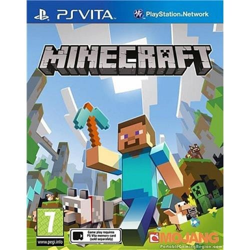 PS Vita hra - Minecraft