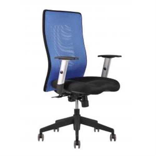 Kancelárska stolička CALYPSO GRAND modrá OF181411