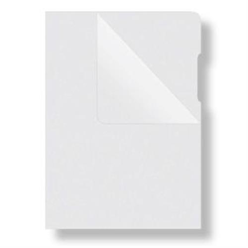 Obal L na dokumenty DONAU 180mic mliečny DO178400