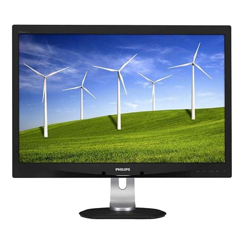 Monitor Philips LCD 240B4QPYEB 24 wide 1920x1200 5ms 20mil:1 DP 2xUSB LED PLS PowerSensor pivot repro 240B4QPYEB 00