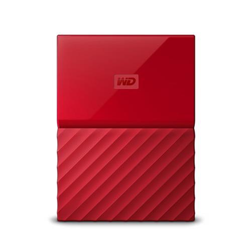 Ext. HDD WD My Passport 2TB, 2,5'', USB 3.0, červený WDBS4B0020BRD-WESN