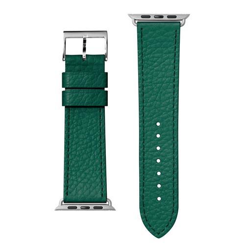 LAUT Milano – kožený remienok na Apple Watch 38/40 mm, smaragdový LAUT-AWS-ML-GN
