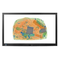 Monitor EIZO DV2324, 23'', LED, FHD, 120Hz, BNC, RS232, 24/7