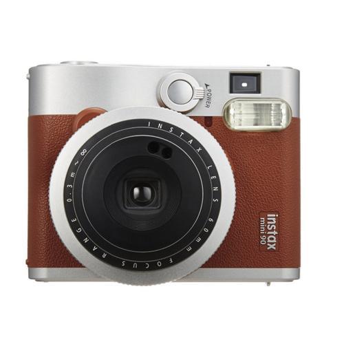 Fujifilm INSTAX MINI 90 INSTANT CAMERA - Brown 16423981