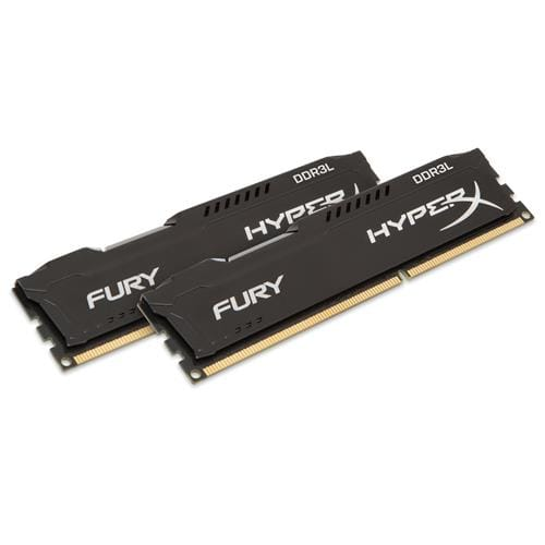 Kingston 16GB DDR3-1600MHz HyperX FURY Black, 2x8GB