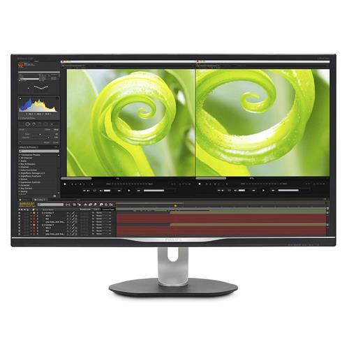 """Monitor Philips 328P6VJEB/00 31,5"""" VA LED 3840x2160 50M:1 4ms 300cd DP DVI Pivot repro čierny"""