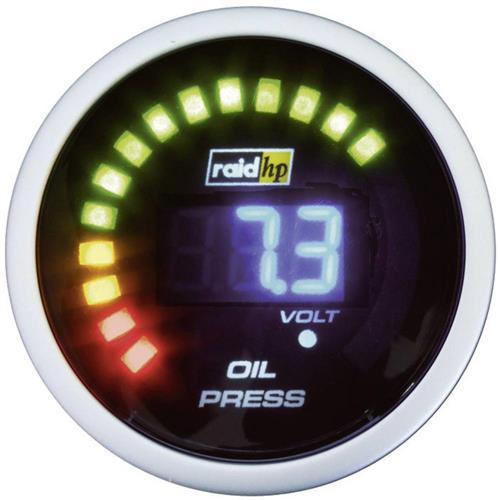 Palubný tlakomer oleja Raid Hp NightFlight, 660501 855569