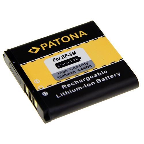 PATONA batéria pre mobilný telefón Nokia BP-6M 1200mAh 3,7V Li-Ion PT3037