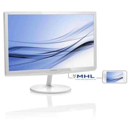 Monitor Philips 247E6EDAW, 24'', LED, FHD, IPS, HDMI, rep, lesk.biely
