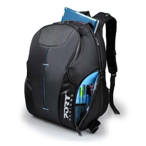 """Batoh Port HELSINKI Combo na 15,6"""" notebook/zrkadlovku, čierny 400324"""