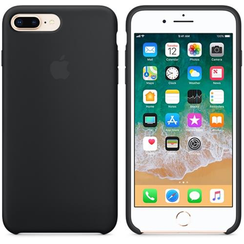 Apple iPhone 8 Plus / 7 Plus Silicone Case - Black MQGW2ZM/A
