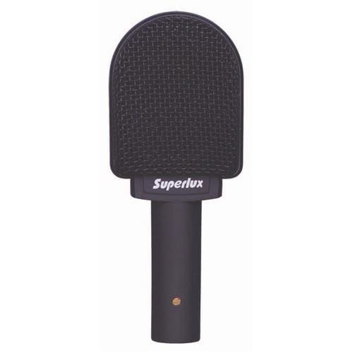 Mikrofón Superlux PRA628MKII, dynamický, pre gitarové a basové aparáty, 80Hz-18kHz, čierny