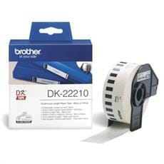 Rolka BROTHER DK22210 Continuous Paper Tape (Biela 29mm)