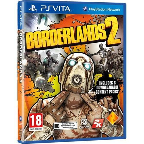 PS Vita hra - Borderlands 2
