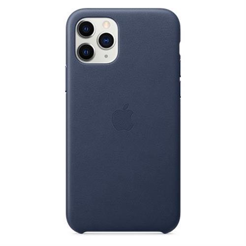 Apple iPhone 11 Pro Leather Case - Midnight Blue MWYG2ZM/A