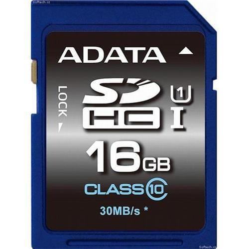 ADATA 16GB SDHC UHS-I Premier, Class 10 ASDH16GUICL10-R