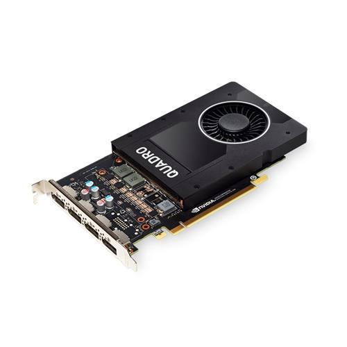 HP NVIDIA Quadro P2200 5GB, 4x DP 6YT67AA