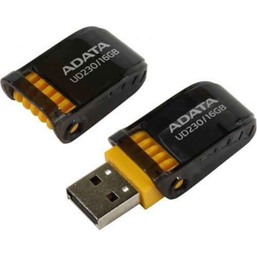 USB Kľúč 16GB ADATA UD230 USB black AUD230-16G-RBK