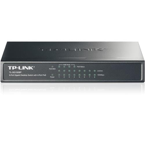 TP-Link TL-SG1008P 8x Gigabit Desktop PoE Switch