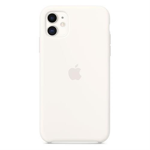 Apple iPhone 11 Silicone Case - White MWVX2ZM/A