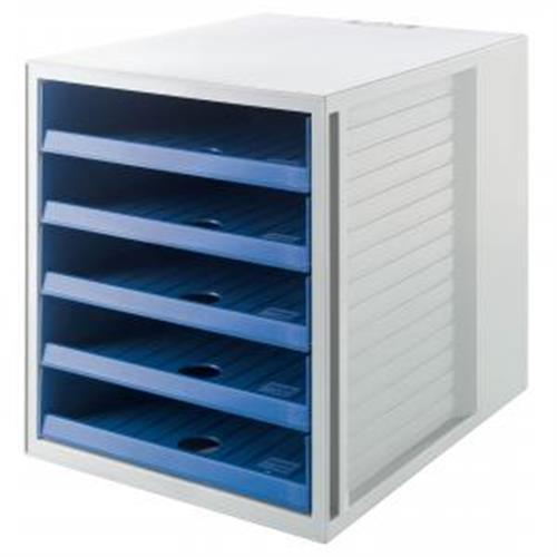 Zásuvkový box Cabinet KARMA eko-modrý HA401816