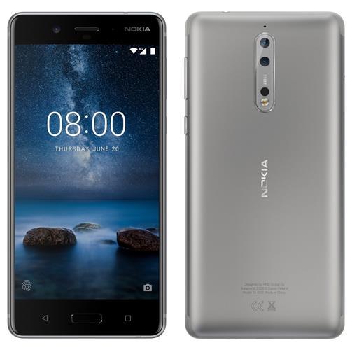 Nokia 8 Silver Steel Dual SIM 95NK381