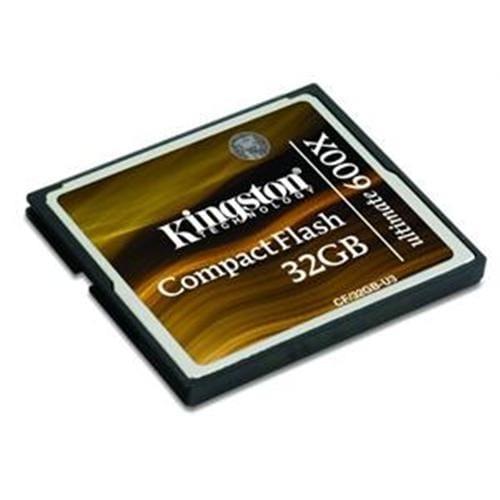 Kingston 32GB CompactFlashUltimate 600x (CF) CF/32GB-U3