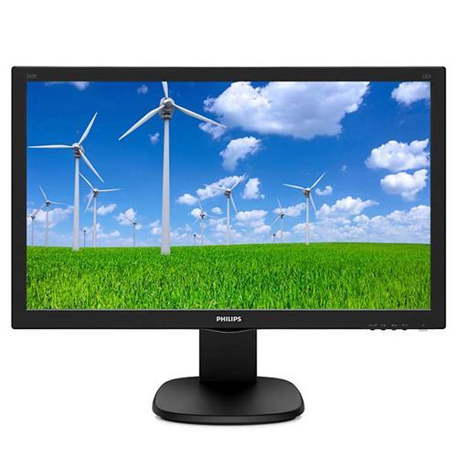 Monitor Philips 243S5LJMB - 24'', LED, FHD, DVI, HDMI, DP, pivot 243S5LJMB/00