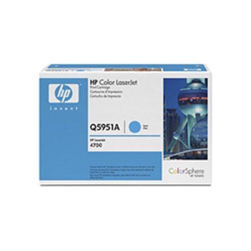 Toner HP Q5951A CLJ4700 Cyan, 10,0 00 strán
