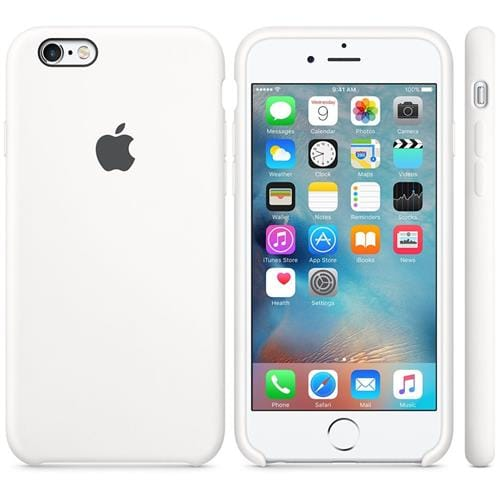 Apple iPhone 6S Silicone Case White