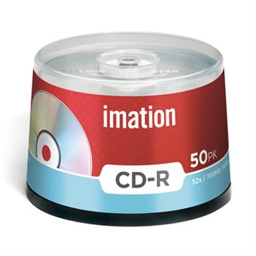 CD-R IMATION 700MB 52X 50ks/cake