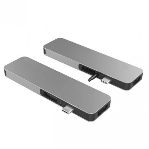 HyperDrive SOLO USB-C Hub pre MacBook & ostatné USB-C zariadenia - Space Gray HY-GN21D-GRAY