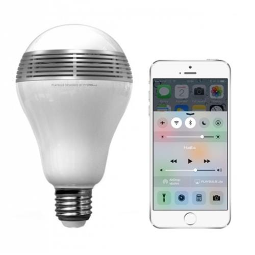 MiPow Playbulb Lite LED Bt. hrajúca žiarovka s rep. MP-BTL100S-WT