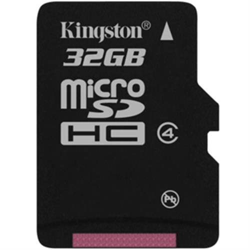 Kingston 32GB Micro SDHC Class 4 (bez adapt.) SDC4/32GBSP