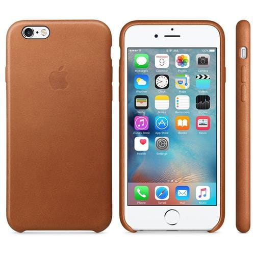 Apple iPhone 6S Leather Case Saddle Brown MKXT2ZM/A
