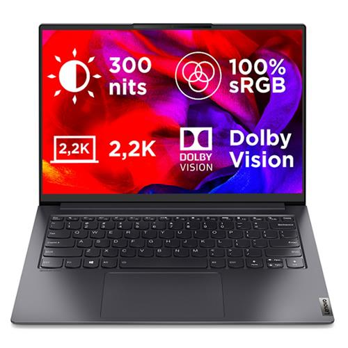 LENOVO NTB Yoga S7 Pro 14ITL5 14.0 I5-1135G7 4.2Ghz 8GB 512GB SSD MX450 SL. GREY WH10 2r premium onsite 82FX0034CK