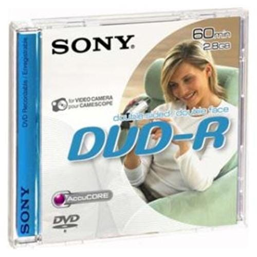 Média DVD-R DMR-60A Sony pro DVD kamery, 8cm DMR60A